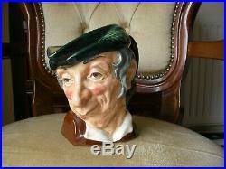 Royal Doulton Large Toby Character Jug Simple Simon D6374 Rare Excellent