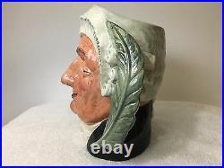 Royal Doulton Large Toby Jug Mug The Lawyer D6498 Limited 1958
