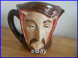 Royal Doulton Large Two Faced Mephistopheles Character Jug Letter A to base