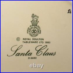 Royal Doulton Large size character jug D6690 Santa Claus Sack of Toys Handle