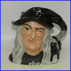 Royal Doulton Large size character jug D6893 The Witch 1991 only UK made