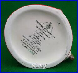 Royal Doulton Liverpool Centenary (bill Shankly) Character Jug D6914 Limit