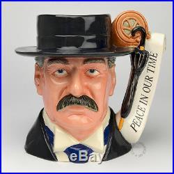 Royal Doulton Lord Chamberlain Character Jug D7285 World War II Politicians
