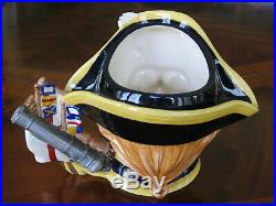 Royal Doulton Lord Horatio Nelson D7236 Character Jug Year 2005 Mint Condition