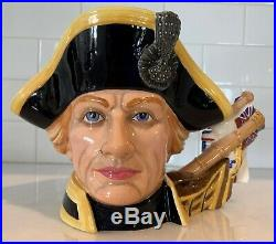 Royal Doulton Lord Horatio Nelson Large Character Jug D7236