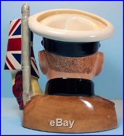 Royal Doulton Lord Kitchener D7148 Large Character Jug