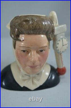 Royal Doulton Ltd Ed. Character Jugs Kenneth Williams & Hattie Jacques With Coa