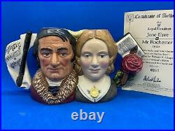 Royal Doulton Ltd Edition Character Jug! Jane Eyre And Mr Rochester! D7115