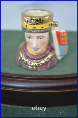 Royal Doulton Ltd Edition Tiny Character Jug Set Kings & Queens Of The Realm