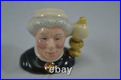 Royal Doulton Ltd Edition Tiny Character Jug Set Sherlock Holmes