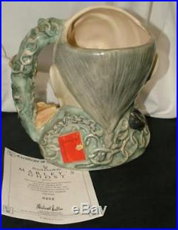 Royal Doulton MARLEY'S GHOST Large Toby Jug D7142 DICKENS CHARACTERS LTD ED
