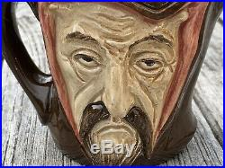 Royal Doulton Mephistopheles Two Faced Devil Character Jug D5758, 3 3/8