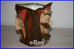 Royal Doulton Mephistopheles large character jug with verse
