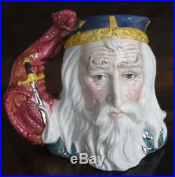 Royal Doulton Merlin D7117 Character Jug Mint Condition #997 Of Only 1500 Made