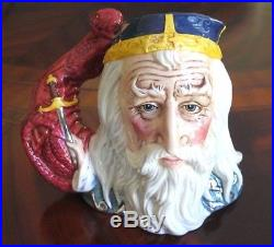 Royal Doulton Merlin D7117 Toby Character Jug #403 of 1,500 withCertificate Mint