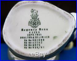 Royal Doulton Mini Character Jug Regency Beau D6565