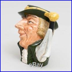 Royal Doulton Mug'Regency Beau' #6565 Collector's Toby Character Jug 3.25 Tall