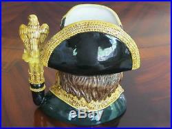 Royal Doulton Napoleon D6941 Character Jug Limited Edition #1744 of 2000 withCOA