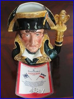 Royal Doulton Napoleon D6941 Character Jug Limited Edition #219 of 2000 withCOA