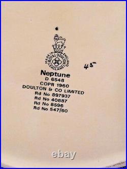 Royal Doulton Neptune Large Character Jug D6548