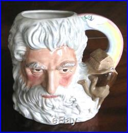 Royal Doulton Noah D7165 Toby Character Jug Extremely Ltd Ed Only 1,000 withCertif