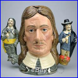 Royal Doulton Oliver Cromwell Large Character Jug D6968