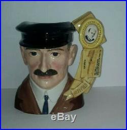 Royal Doulton Orville Wright Character Jug D7178 Ltd Edition 323/1000 Rare