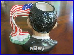 Royal Doulton President Obama D7300 Character Jug of the Year 2011 Mint In Box