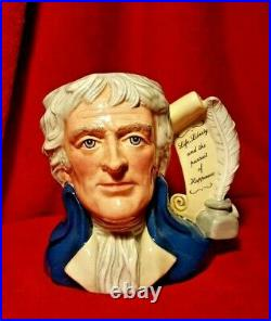 Royal Doulton Presidential Series Thomas Jefferson D6943 Large Character Jug