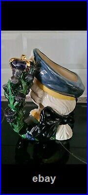 Royal Doulton Prototype Character Jug, Bonnie Prince Charlie D6858