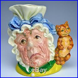 Royal Doulton Prototype Cook & Cheshire Cat Character Jug