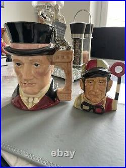 Royal Doulton Prototype Jockey Mid Size 4 1/2 Inch Character Jug