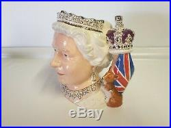 Royal Doulton Queen Elizabeth II D7256 Character Jug of the Year 2006