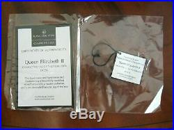 Royal Doulton Queen Elizabeth II D7256 Character Jug of the Year 2006 MIB