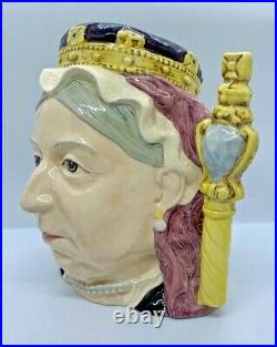 Royal Doulton Queen Victoria Large Character Jug