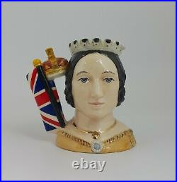 Royal Doulton Queen Victoria Small Character Jug D7072 Limited Edition