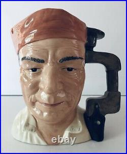 Royal Doulton RARE Cabinet Maker Character Jug D7010 Large Signed / Dated