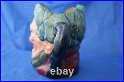 Royal Doulton Rare Large Auld Mac Tartan Prototytpe/colourway'a' Character Jug