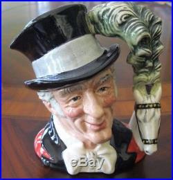 Royal Doulton Ringmaster D6863 Character Mug Jug Mint Condition