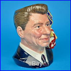 Royal Doulton Ronald Reagan D6718 Large Character Jug