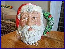 Royal Doulton SANTA CLAUS D6794 Large 7 Character Toby Jug 1987