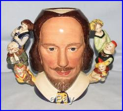 Royal Doulton SHAKESPEARE Character Jug D6933 1992 LtdEd 43/2500 Museum Quality