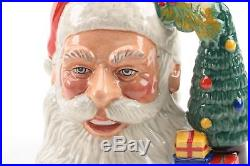 Royal Doulton Santa Claus Character Jug Large D7123 Limited Edition of 1500