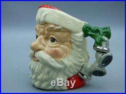Royal Doulton Santa Claus D6964 With Bell Handle Toby Character Jug Mug Box