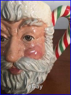 Royal Doulton Santa Claus Large Oversized Character Jug D6840 Special Edition