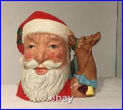 Royal Doulton Santa Toby Jug D6675 Mug Character Reindeer