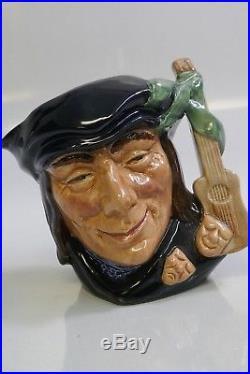 Royal Doulton Scaramouche D 6561 Small Character Jug
