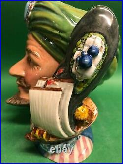 Royal Doulton Sinbad Prototype Character Jug Museum sale