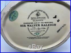 Royal Doulton Sir Walter Raleigh Large Character Jug