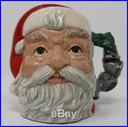 Royal Doulton Small Character Jug Santa Claus D6964 Christmas Bells Handle